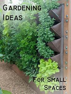 Gardening ideas for small spaces photograph gardening idea for Gardening ideas for small spaces