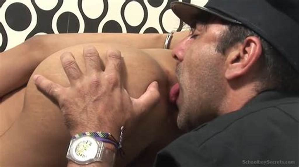 #Police #Officer #Cuffs #And #Licks #Asshole #Of #Young #Tiny #Latin