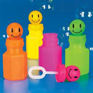 Smile Face Bubble Bottles