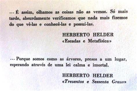 Herberto Helder Poemas Herberto H 201 Lder Para Sempre Roinesxxi