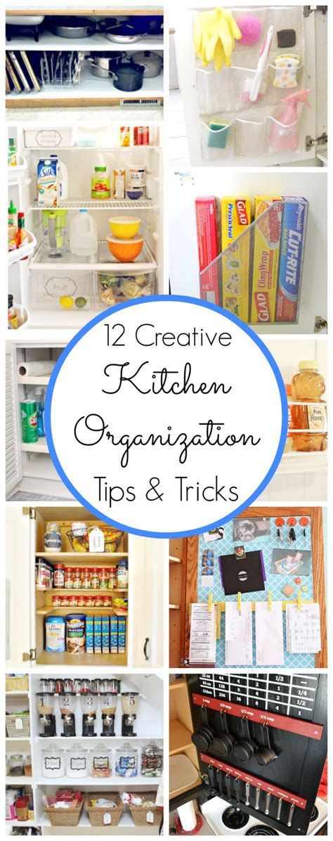 kitchen organization tips and tricks