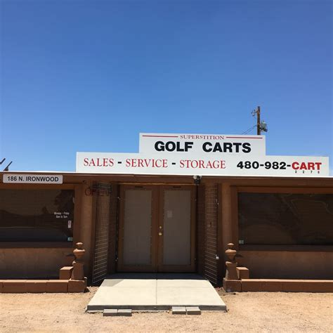 Robinson Gold Cart In Apache Junction
