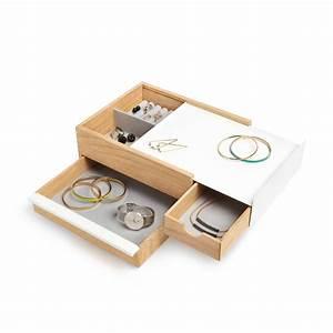 Boite À Bijoux Design : boite bijoux stowit umbra absolument design ~ Melissatoandfro.com Idées de Décoration