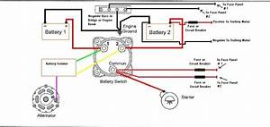 Marine Dual Battery Wiring Diagram