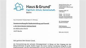 Vermieterbescheinigung Für Neuen Vermieter : haus und grund berlin offener brief ~ Lizthompson.info Haus und Dekorationen