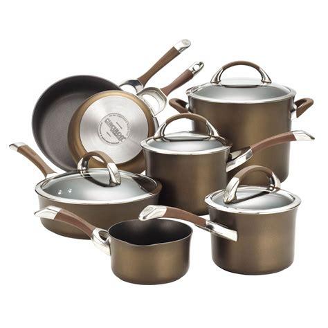 nonstick symmetry cookware anodized circulon hard dishwasher pots safe