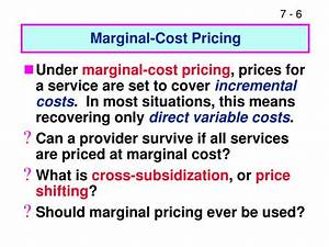 PPT - CHAPTER 7 Pricing and Service Decisions PowerPoint ...