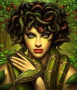 Medusa The Gorgon Pinterest