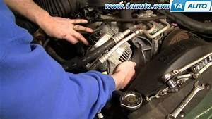 How To Install Replace Alternator Dodge Durango Dakota 98