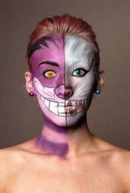 Cheshire Cat Costume Makeup