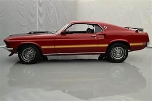 69 Mustang Mach 1 351ci  290hp V8 4spd Manual Rwd Candy
