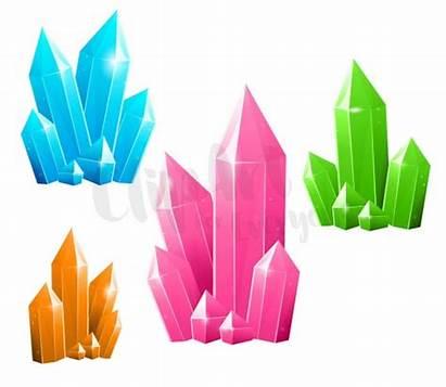 Clip Crystals Clipart Gemstone Diamond