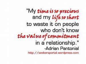 Prove Your Comm... Cute Relationship Commitment Quotes