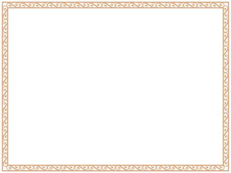 printable blank certificate borders clipart