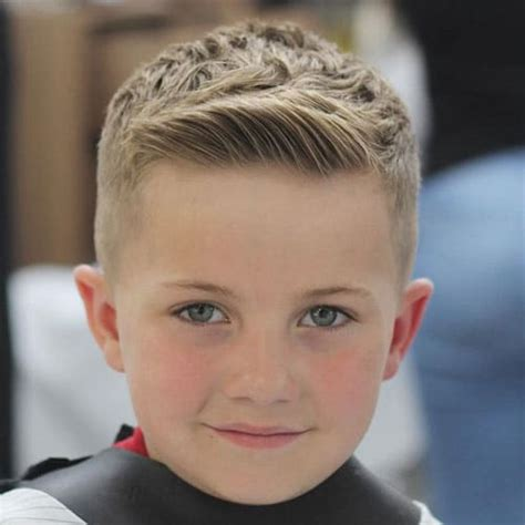 Boys Hairstyles On Top by 25 Cool Boys Haircuts 2019 Guide