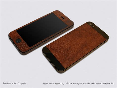 iphone model a1428 for apple iphone 5 model a1428 a1429 royal walnut wood