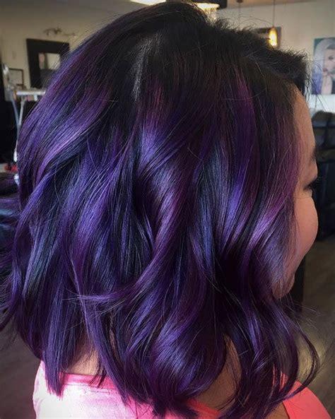 plum hair color best 25 plum highlights ideas on plum hair