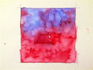 Using  U0026quot Back Washes U0026quot  As An Abstract Watercolor Technique