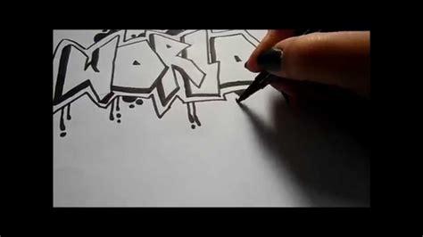 Graffiti Zeichnen : Graffiti Zeichnen