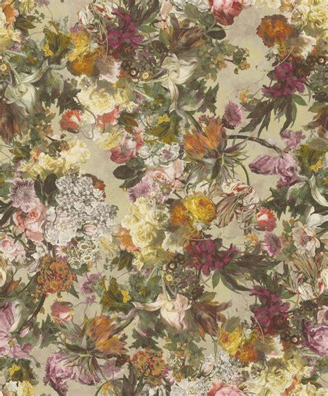 Rasch Tapete Blumen by Vliestapete Rasch Passepartout Blumen Ros 233 Bunt 605648