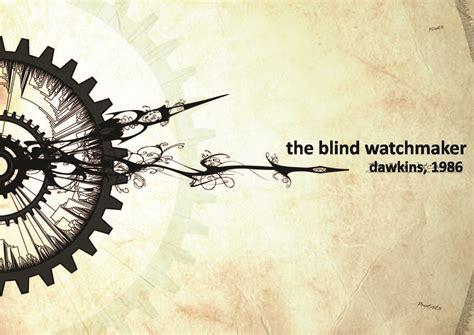 the blind watchmaker dawkins the blind watchmaker adapturbia