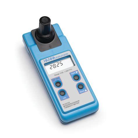 hi93703c portable turbidity meter iso compliant kit at mediray