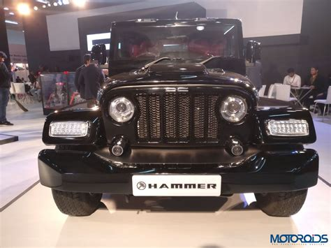 auto expo 2018 dc hammer is another thar gone costs inr 5 95 lakh motoroids