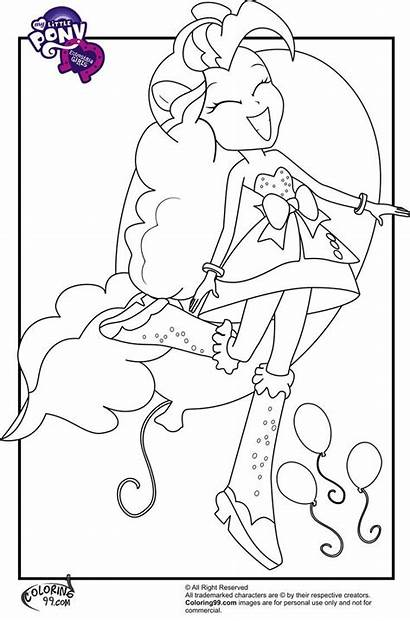 Equestria Rainbow Rocks Coloring Pages Pony