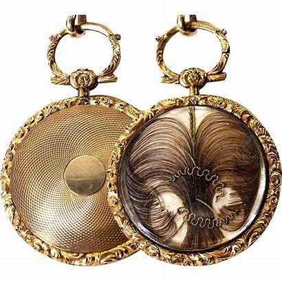 Victorian Georgian Pocket Locket Antique Era Pendant