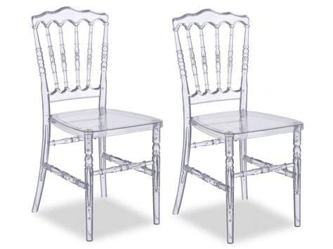 chaise en polycarbonate lot de chaises vicomte polycarbonate transparent