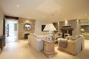 Light Und Living : gorgeous pale chalky neutral living room with recessed spot lighting and white wood burning ~ Eleganceandgraceweddings.com Haus und Dekorationen