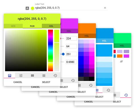 html color picker from image github brianpkelley md color picker angular material