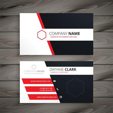 creative visit card template vector design illustration