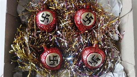 public outrage as nazi christmas baubles are sold on czech auction site