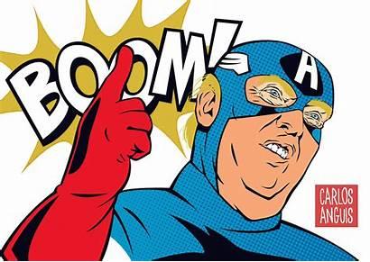 Pop Trump Donald Captain America Lsd Behance