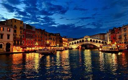 Italy Venice Night Windows Bridge Wallpapertag