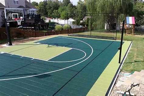 garden basketball court backyard basketball courts quecasita