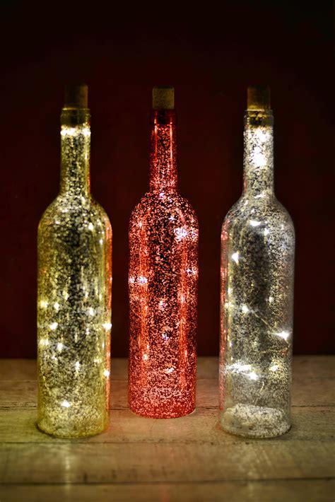 wine bottle led lights 3 led lighted wine bottles battery operated