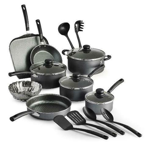 cookware nonstick pans dishwasher utensils pots starter cooking kitchen