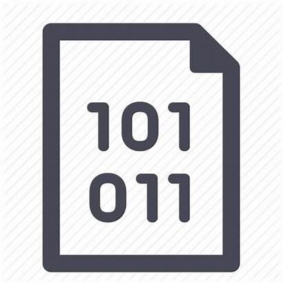 Binary Icon Code Data Source Coding Icons