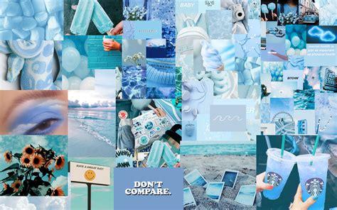 blue aesthetic wallpaper for mac in 2020 aesthetic