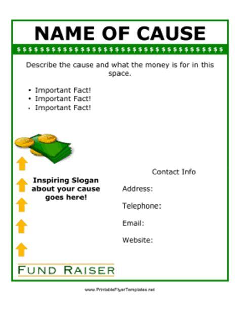 fundraiser flyer template free 10 free fundraiser flyer templates stunning designs demplates