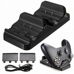 Dual USB Charging Dock Controllers Charger With 2pcs