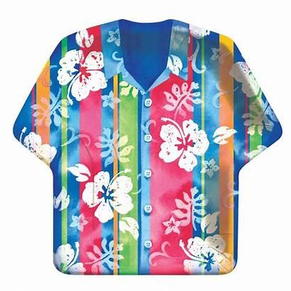 Hawaiian Clip Clipart Shirts Hawaii Hawaiana Luau