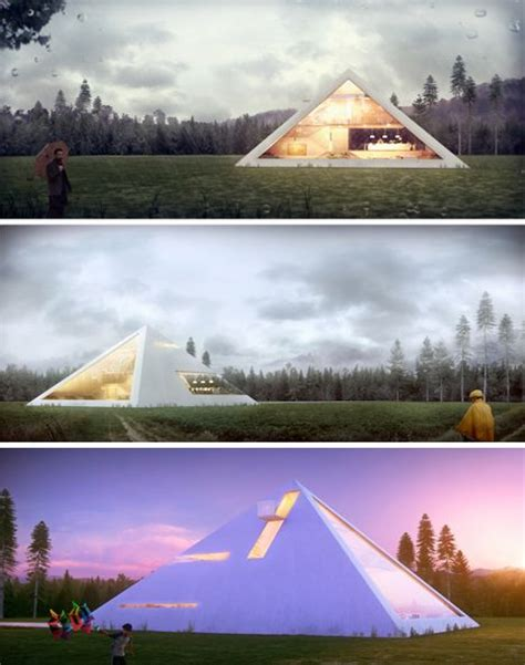 50 best Pyramid Houses images on Pinterest Pyramid house