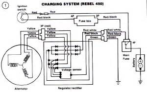 honda cb400 and cb450 wiring diagram and schematics circuit wiring diagrams