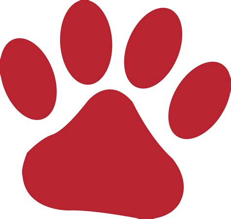 Tiger Paw Clip Tiger Paws Clip Cliparts Co