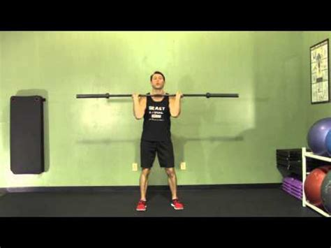 barbell power clean