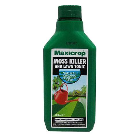 maxicrop garden moss killer lawn tonic organic seaweed