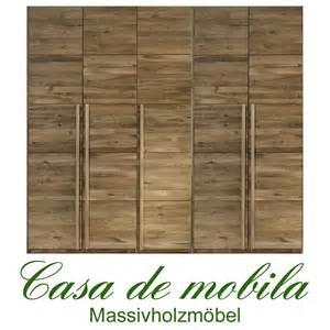 kleiderschrank massivholz echtholz kleiderschrank eiche massiv natur geölt front6 5 türig wildeiche